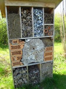 Insekthotel i Økologiens Have, Odder 1
